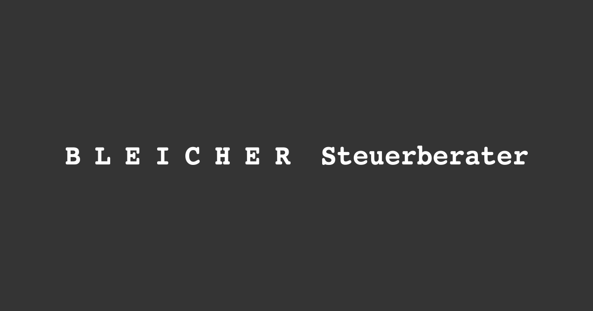 BLEICHER Steuerberater Dipl.-BW(FH) Susanne Hengge, Stbin